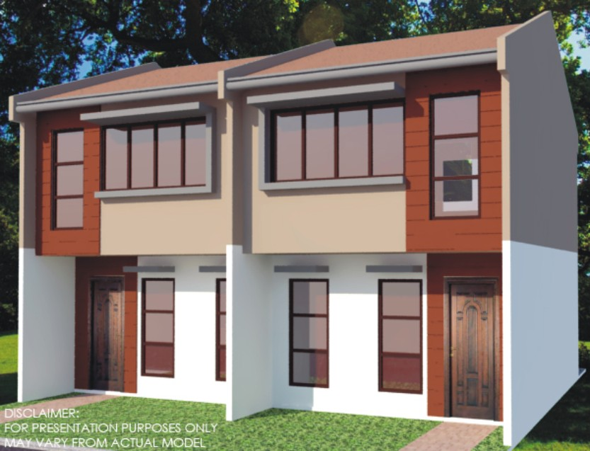 Lowcost housing in cebu for house and lot subdivision for House design philippines low cost